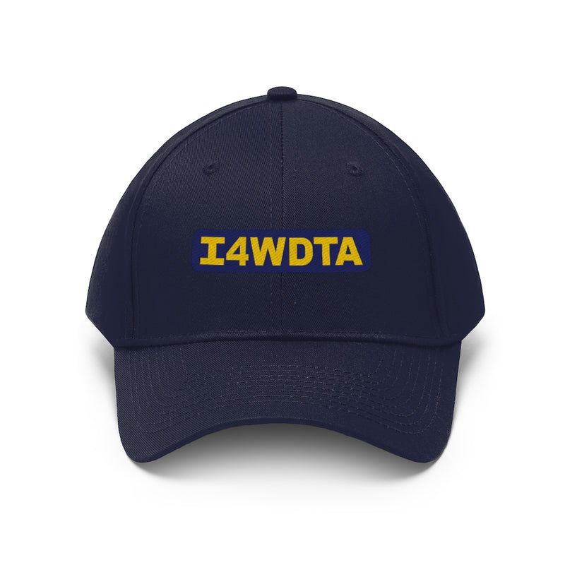 I4WDTA Embroidered Unisex Twill Hat