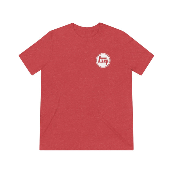 TEQ White Logo Value Triblend Tshirt
