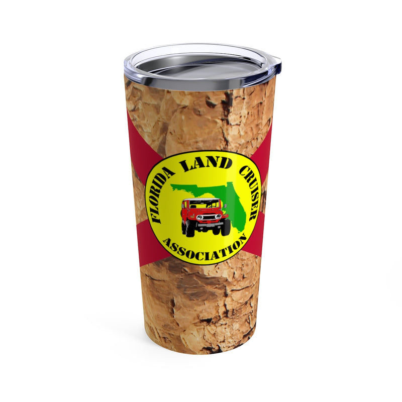 Florida Land Cruiser Association Rocks Travel Mug Tumbler by Reefmonkey FLCA