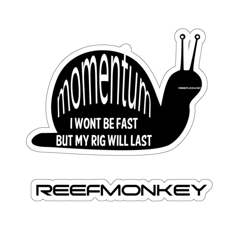 Momentum Snail Decal Sticker