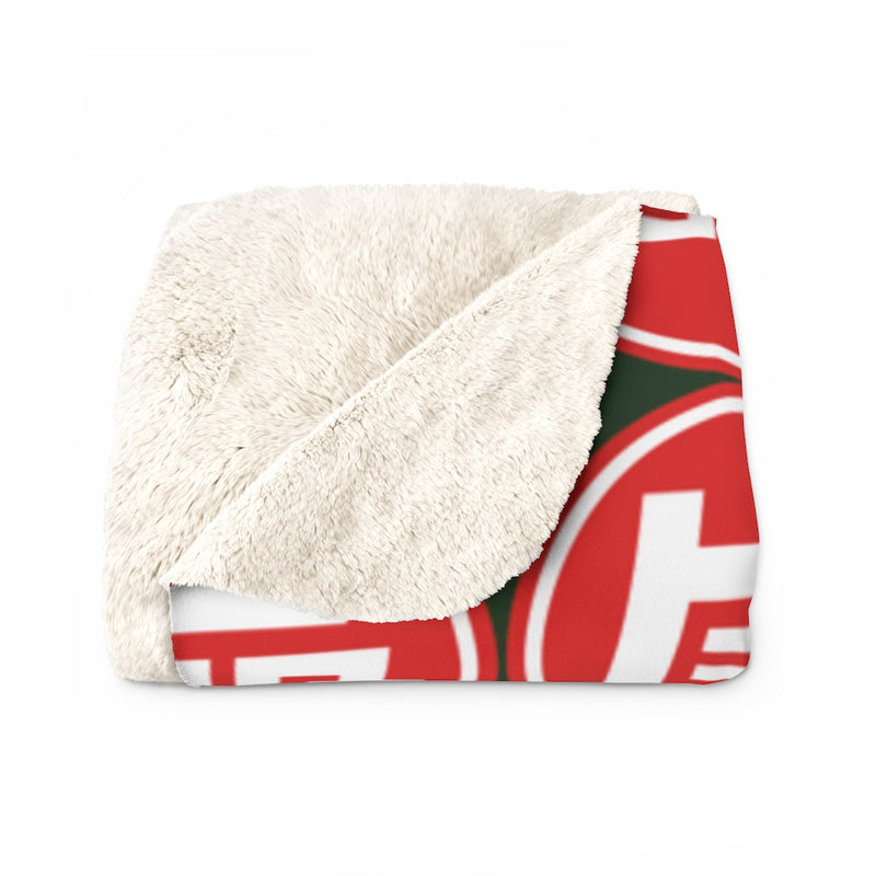 TEQ Toyota Sherpa Fleece Blanket by Reefmonkey DARK GREEN