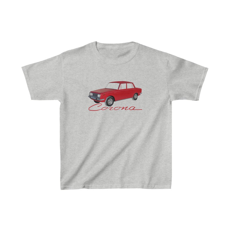 Toyota Corona Car KIDS Tshirt by Reefmonkey