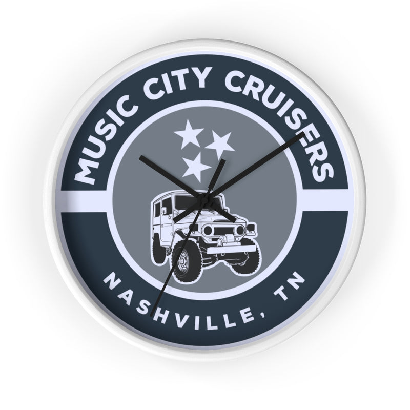 Music City Cruisers Wall clock