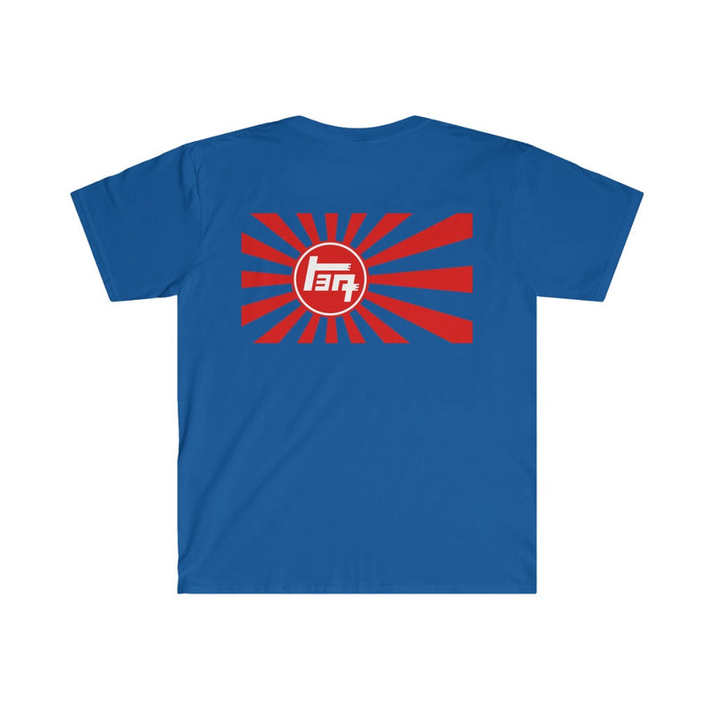 4 Wheel Drive/TEQ Rising Sun FITTED Short Sleeve Tee