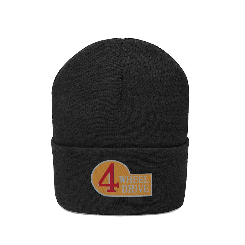 4 Wheel Drive Toyota FJ40 Embroidered Knit Beanie