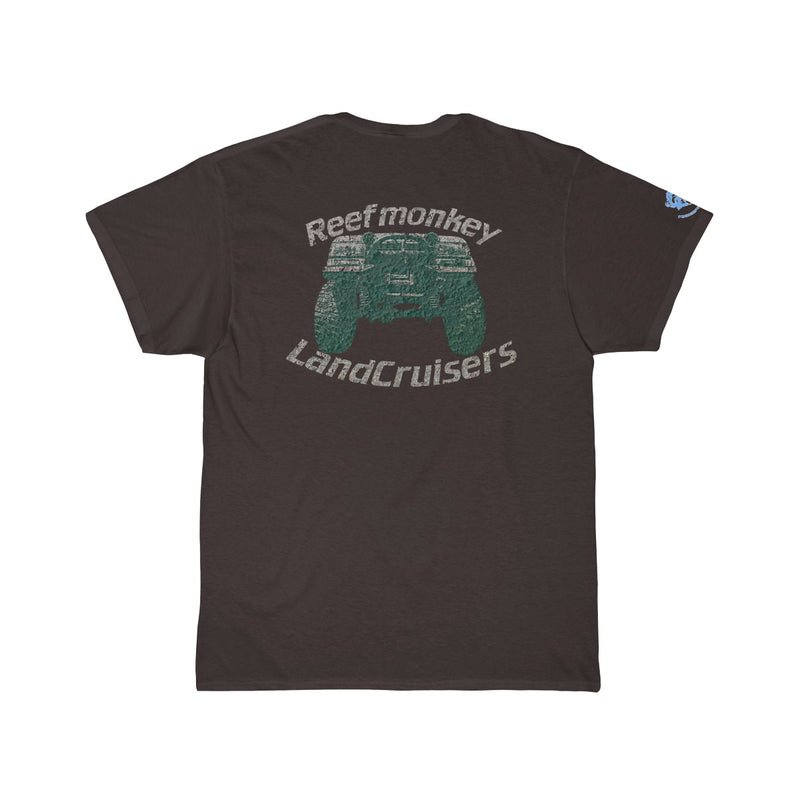 Land Cruiser FJ80 FZJ80 Distressed Men's Short Sleeve Tshirt by Reefmonkey