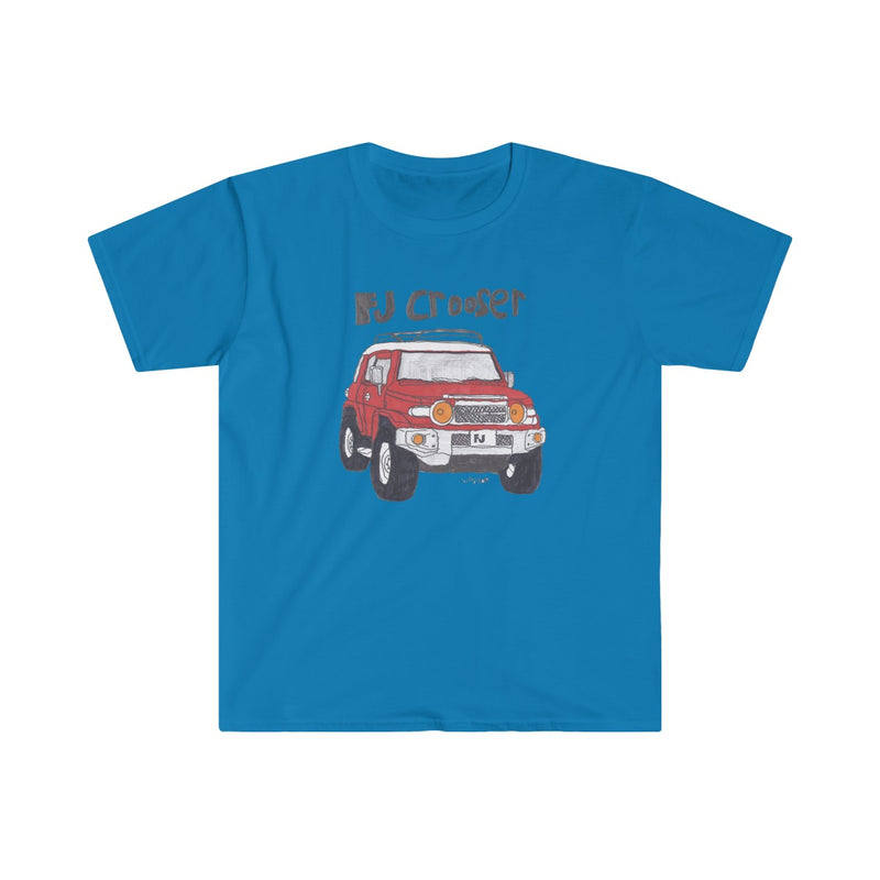 FJ Crooser / FJ Cruiser Kids Art Fitted Short Sleeve Tshirt