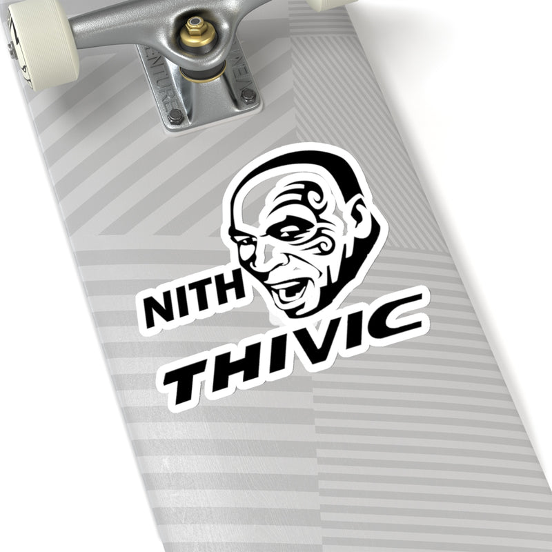 "Honda Civic Mike Tyson Sticker ""Nith Thivic"" decal"