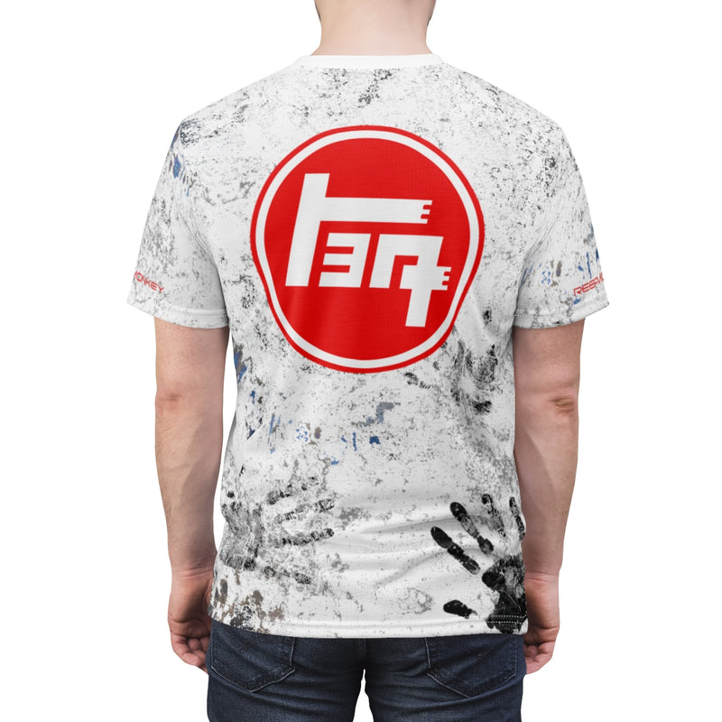 TEQ 4WD Toyota Dirty Shirt - AOP Cut and Sew shirt by Reefmonkey