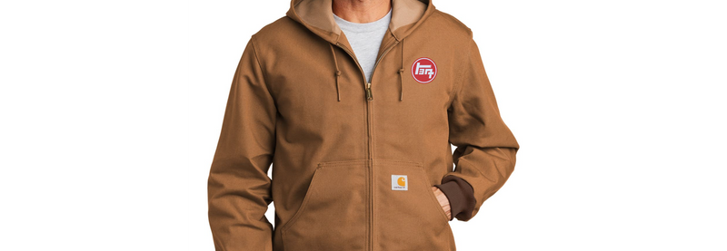 Carhartt Thermal Lined Jacket - Hooded Duck Jacket - Up to 6XL (Tall sizes too)