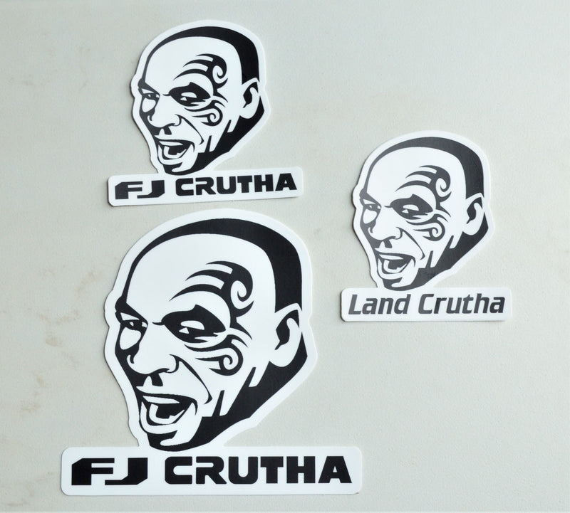 Land Cruiser Mike Tyson Land Crutha Land Cruiser Decal (Heavy Duty Version)