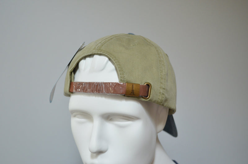 Toyota Unstructured Pigment Dyed Cotton Twill Hat with Brass Buckle