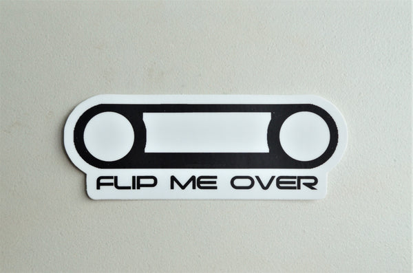 Flip Me Over Bezel - FJ40 Land Cruiser Bezel Decal