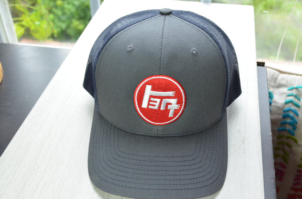 TEQ Toyota Embroidered Richardson 112 Trucker hat.