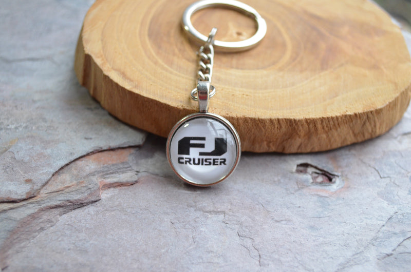 FJ Cruiser Key Chain Toyota FJ Cruiser Handmade Gifts Brass or Silver