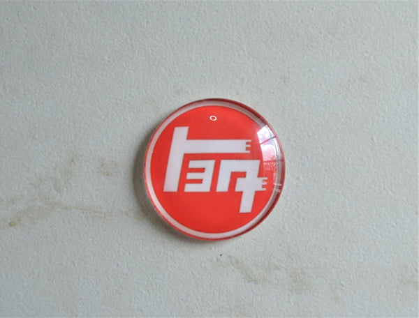 FJ40 Steering Wheel Emblem - Teq Steering Wheel - Rising Sun Steering Wheel - Teq Horn Button