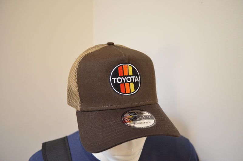 TEQ Toyota Hats New Era 9Forty Adjustable Structured Trucker hat