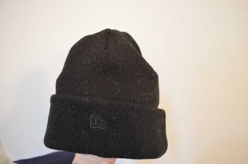 New Era Speckled Beanie Embroidered Knit Cap Toyota TEQ or 3 Stripe Logo