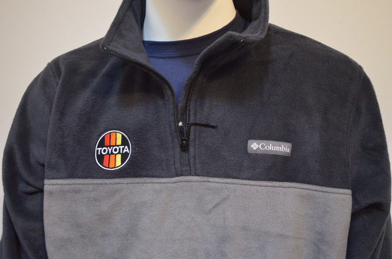 Columbia Fleece Quarter Zip Pullover - Premium TEQ Toyota or 3 Stripe Logo