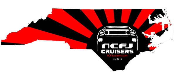 NCFJ Cruisers Extra Large Decal by Reefmonkey
