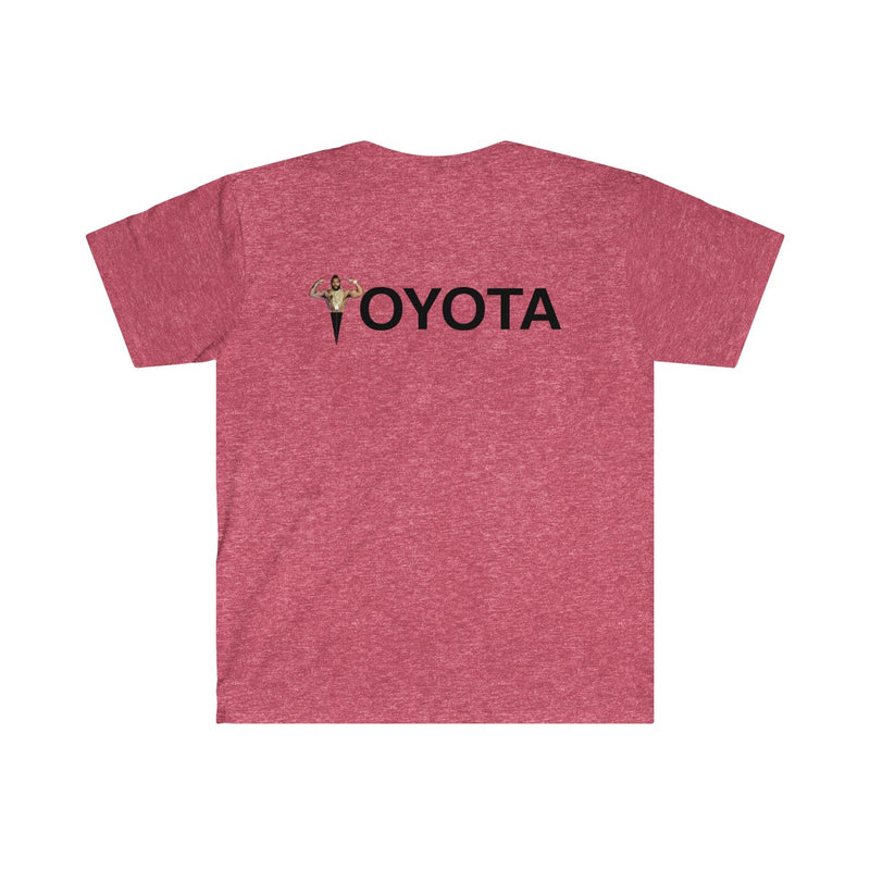 Mr. Toyota Fitted Heather Tshirt by Reefmonkey