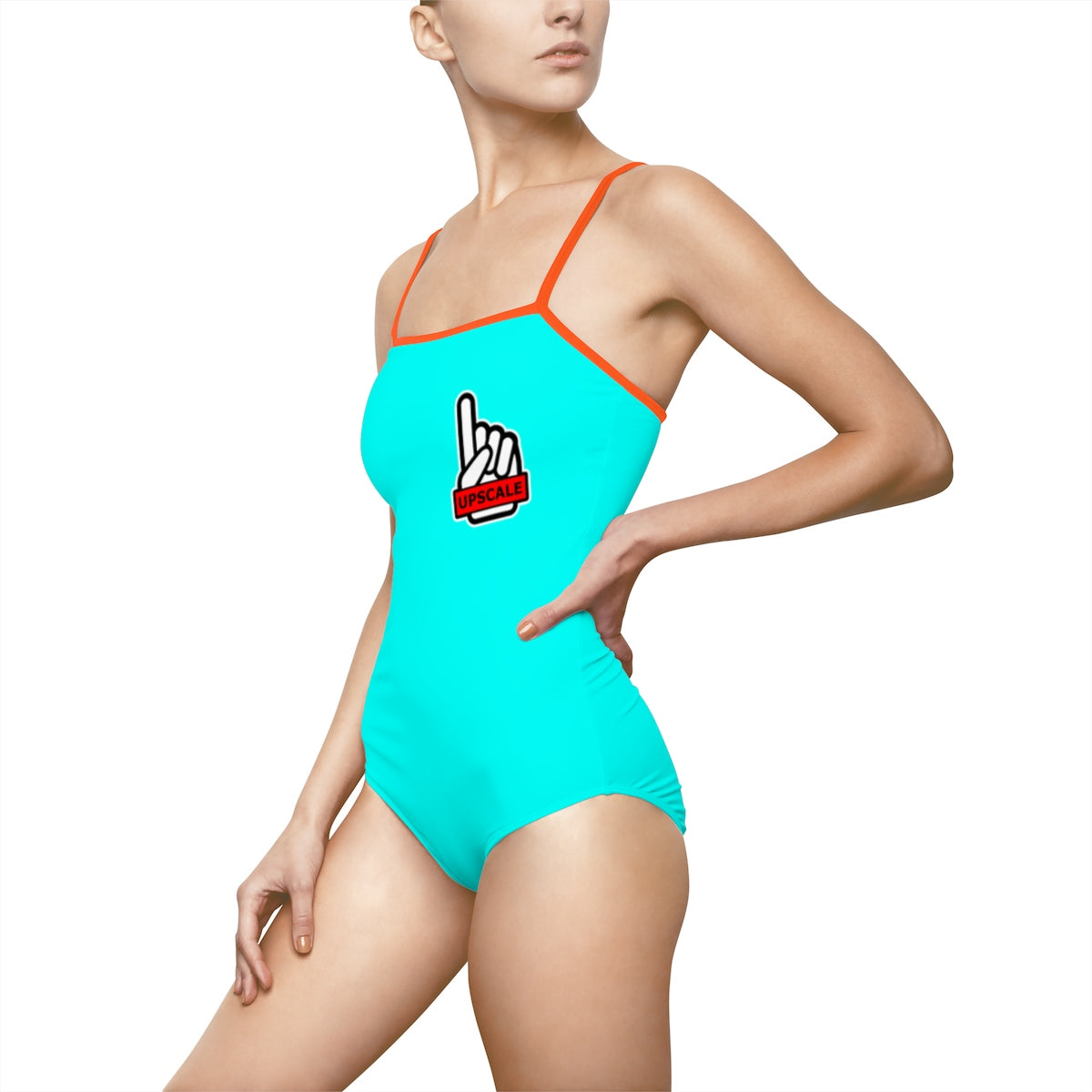 UPSCALE BELIZE - Womens Swimsuit in Blue by Reefmonkey partner Squad Movements