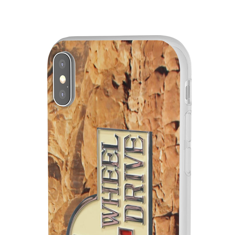 Toyota FJ40 4 Wheel Drive logo - Rock Phone Cover by Reefmonkey
