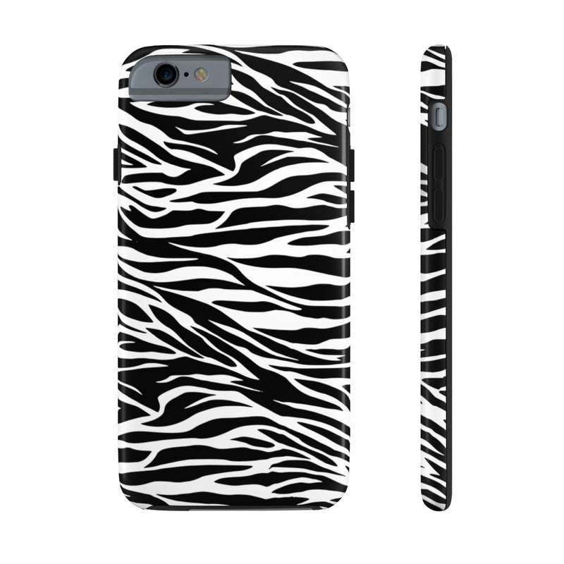 Zebra Print Phone Case Tough Phone Cases by Case Mate Up to Iphone 11