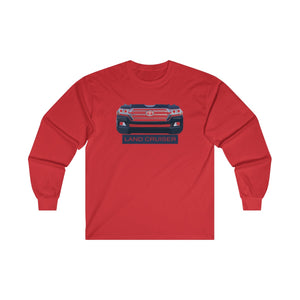 Toyota Land Cruiser 200 series long sleeved tshirt Landcruiser gifts by Reefmonkey