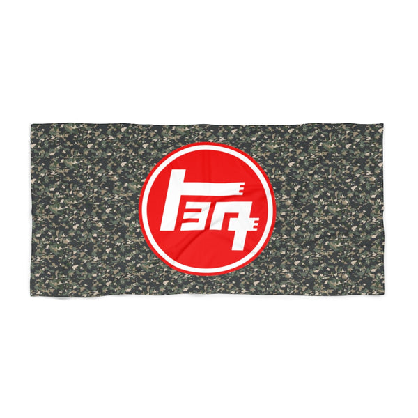 TEQ Old School Toyota Camo Beach Towel - by Reefmonkey