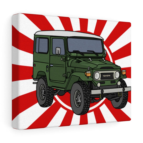 FJ40 Wall Art - Land Cruiser Wall Art - Reefmonkey Artist Chris Marshall