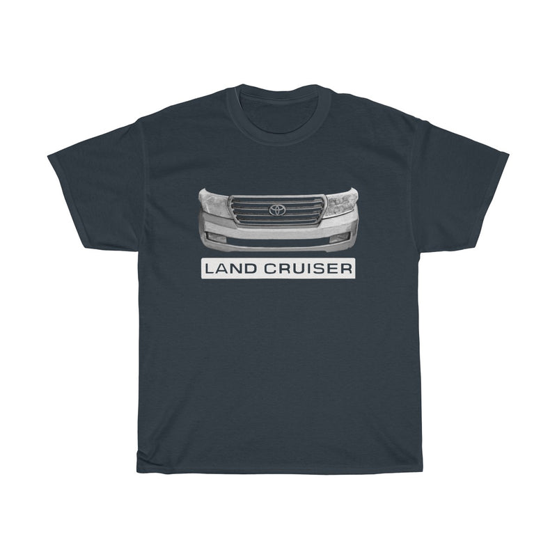 Toyota Land Cruiser 200 Series (Gen1) Heavy Cotton Tshirt Landcruiser Gifts by Reefmonkey