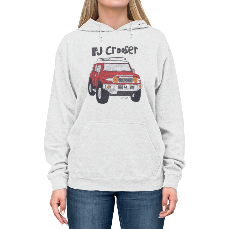 FJ Crooser / FJ Cruiser Kids Art Unisex Lightweight Hoodie