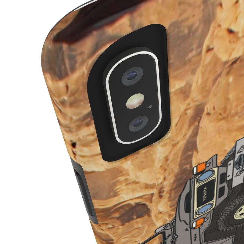 FJ40 Phone Cover Land Cruiser Phone Covers by Reefmonkey Artist Brody Plourde Iphone 11 MAX Pro