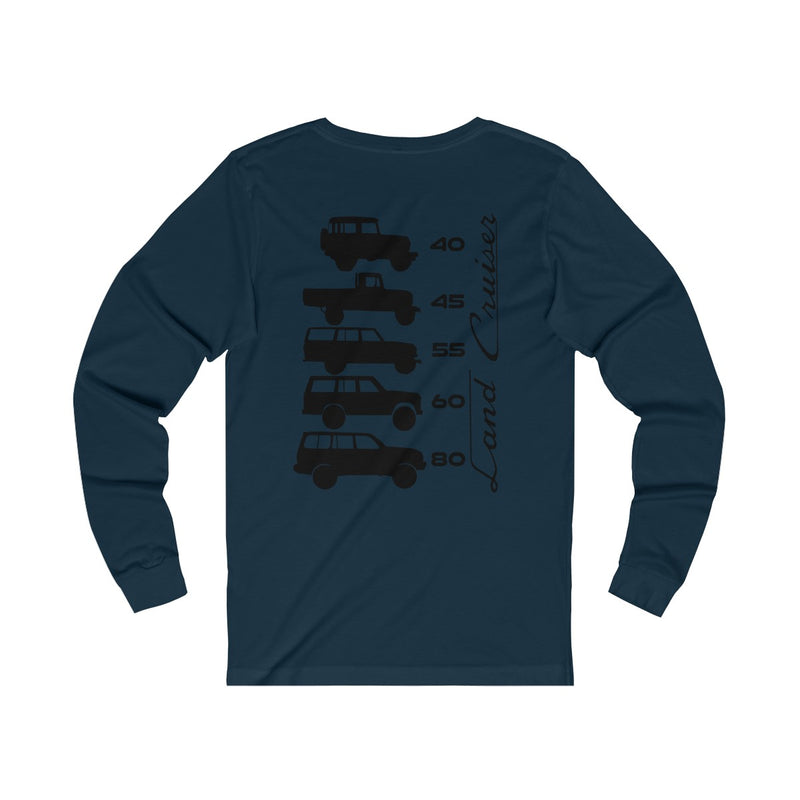 "TEQ Land Cruiser Generations Long Sleeve Tshirt ""Generations Long Sleeve Tee"""