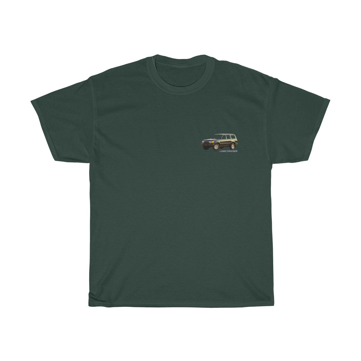 "Toyota Land Cruiser ""Legendary Full Time 4wd"" classic fit tshirt - By Reefmonkey"