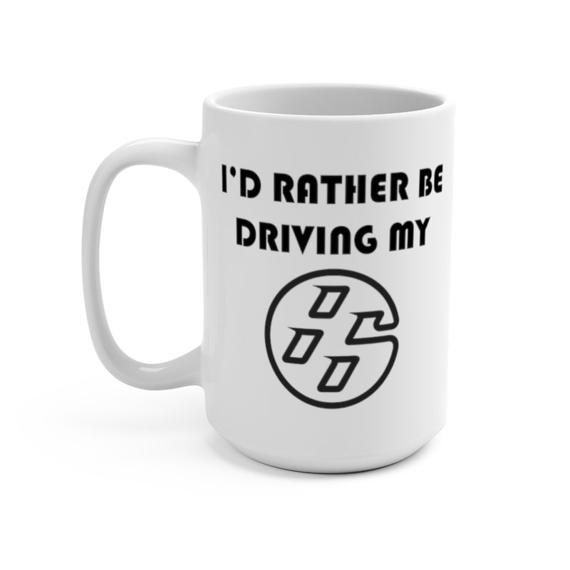 Toyota GT86 Coffee Mug, I'd Rather Be Driving My 86, Reefmonkey