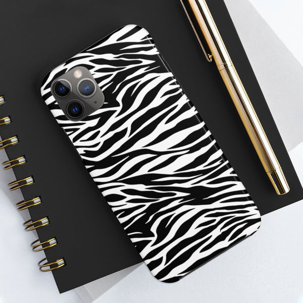 Zebra Phone Case Tough Phone Cases Up to Iphone 11 PRO MAX Samsung by Reefmonkey