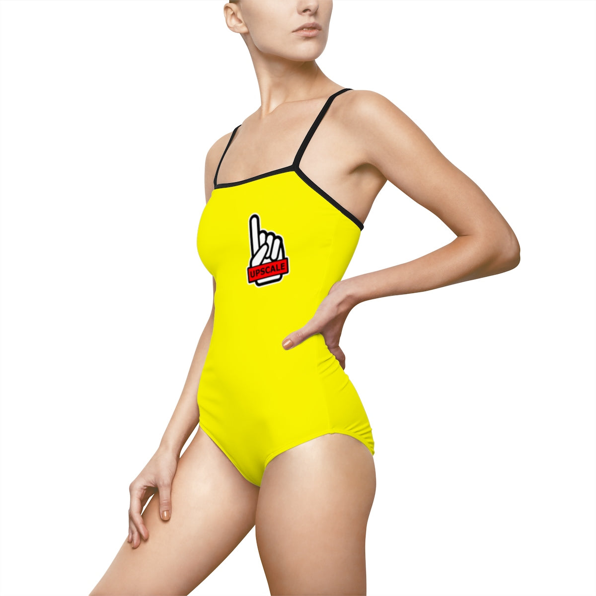 UPSCALE BELIZE - Womens Swimsuit in Yellow by Reefmonkey partner Squad Movements