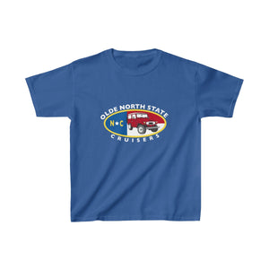 ONSC Olde North State Cruisers Land Cruiser Club KIDS Heavy Cotton Tshirt by Reefmonkey