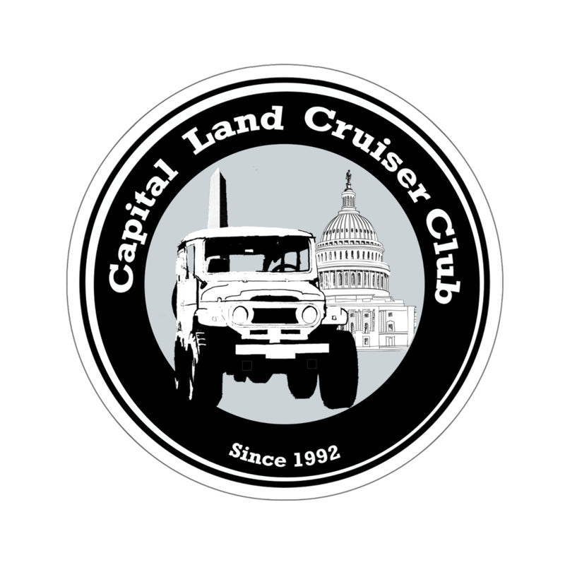 Capital Land Cruiser Club Kiss-Cut Stickers