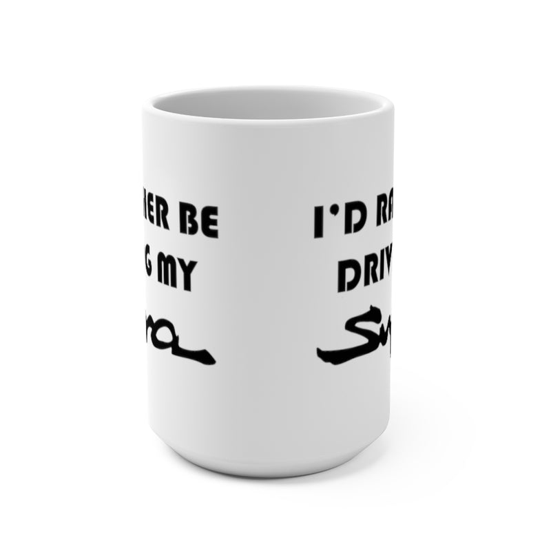 Toyota Supra Coffee Mug, I'd Rather Be Driving My Supra, Reefmonkey