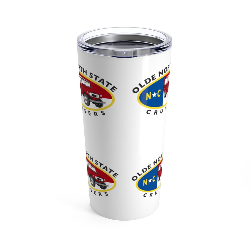 ONSC Olde North State Cruisers Land Cruiser Club Steel Tumbler by Reefmonkey
