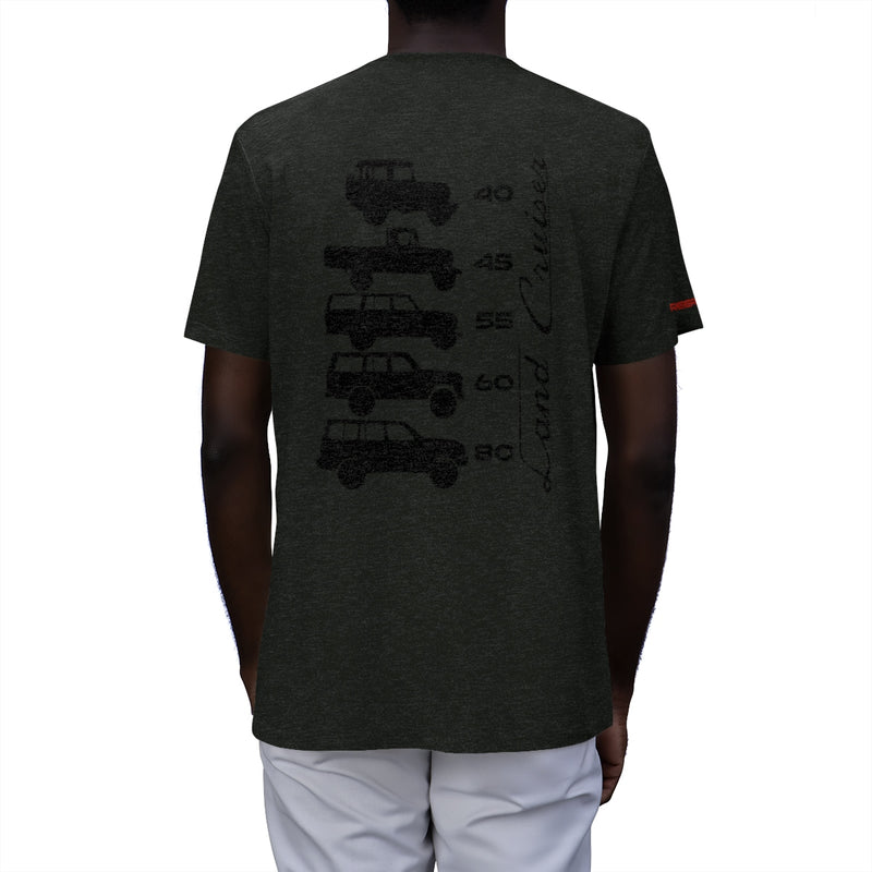 Land Cruiser Generations Men's Tri-Blend T-Shirt