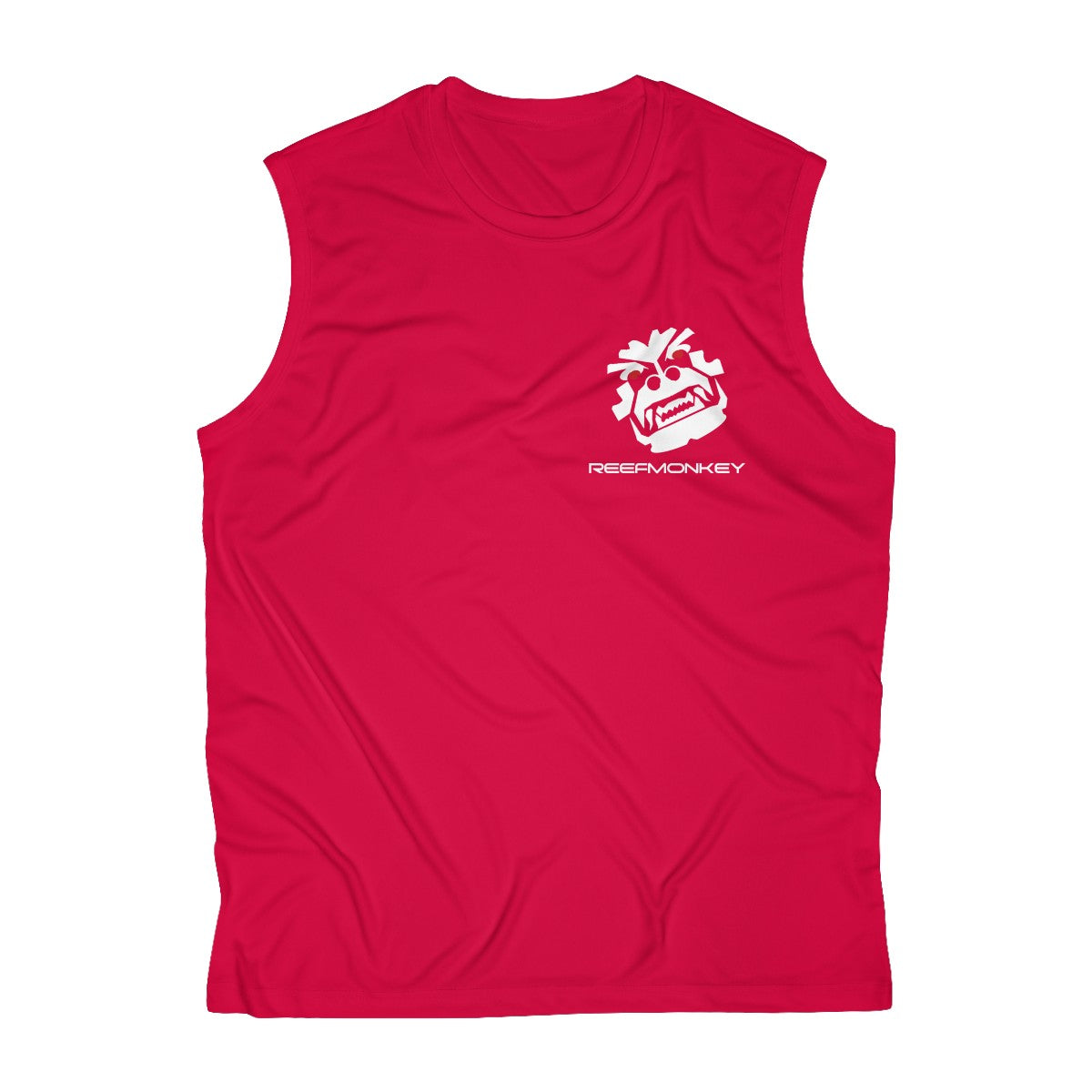 Angry Monkey - Men's Sleeveless Performance Tshirt by Reefmonkey