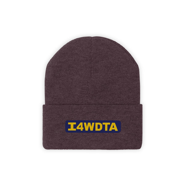 I4WDTA Embroidered Knit Beanie