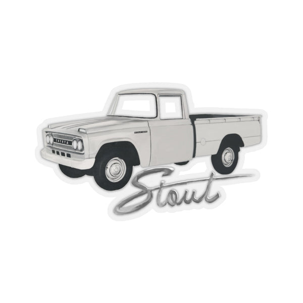Toyota Stout Decal by Reefmonkey - Toyota Stout Sticker gift for guys