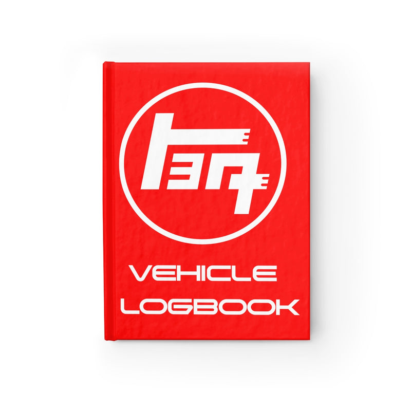 TEQ Toyota Logbook Hardcover Blank Journal By Reefmonkey FJCruiser Land Cruiser Gifts