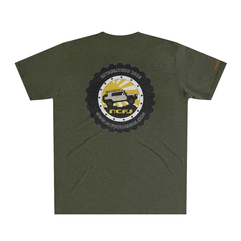 NCFJ Cruisers Men's Tri-Blend T-Shirt by Reefmonkey