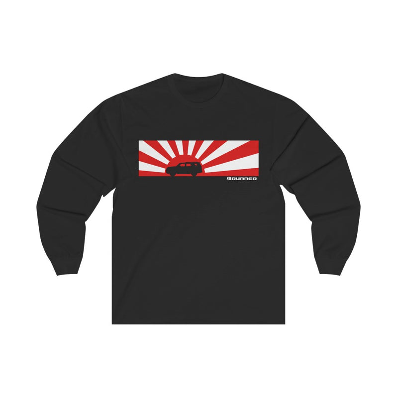 Rising Sun 4Runner Long Sleeve Shirt, Toyota 4Runner Tee, Mens T Shirt - Reefmonkey